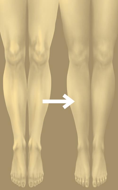 骨と筋肉に適度な脂肪をのせていくイメージで描画